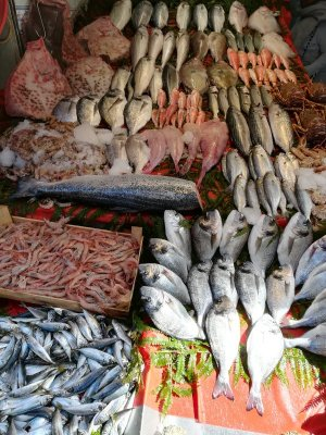 Balik pazari a Istanbul