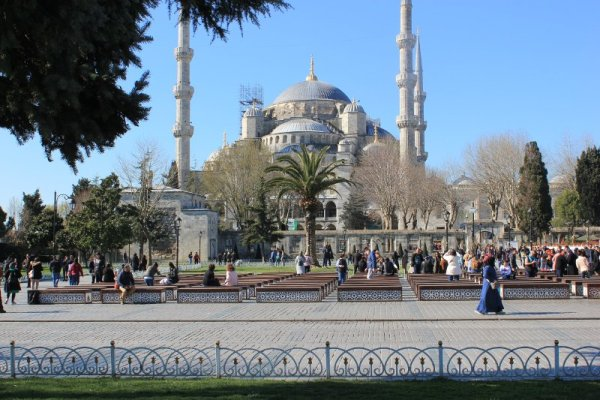 La Moschea Blu a Istanbul