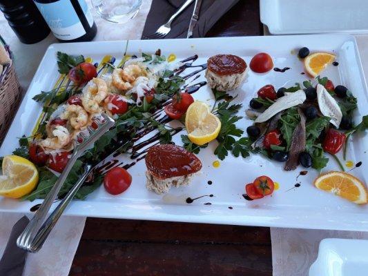 Antipasto freddo pesce Istria