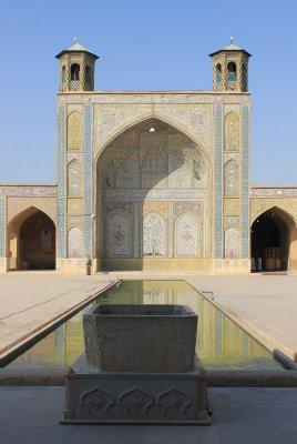 Cortile della Moschea Vakil a Shiraz Iran