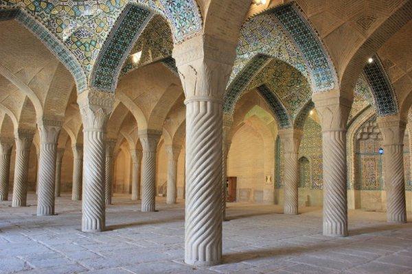 Sala della preghiera della Moschea Vakil Shiraz Iran