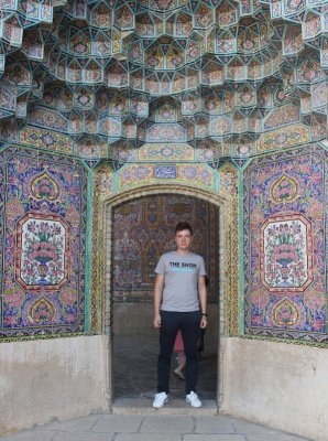 Muqarnaş Masjed-e Nasir-Al-Molk Shiraz Iran