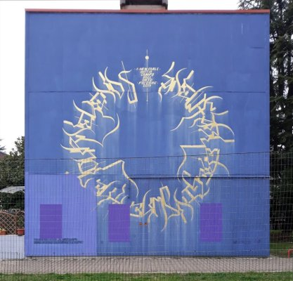 Mattia Campo dall'Orto street art Udine