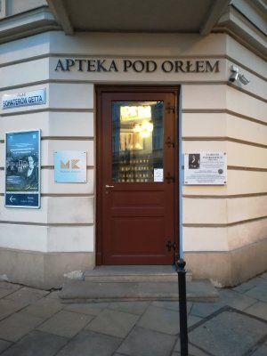 Farmacia sotto l'Aquila a Cracovia