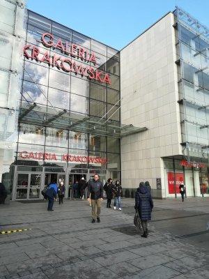 Ingresso Galeria Krakowska Cracovia