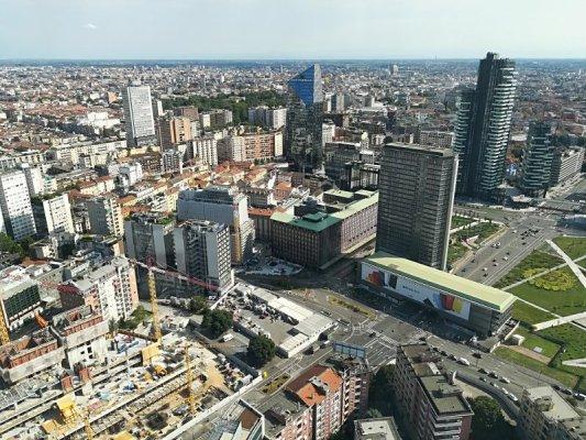 Panorama del Business District ex Varesine Milano