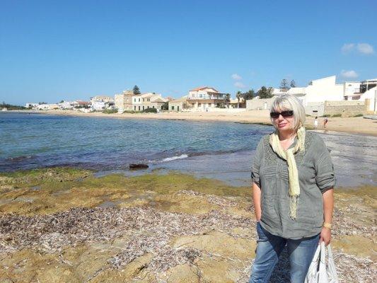 Spiaggia di Punta Secca in Sicilia