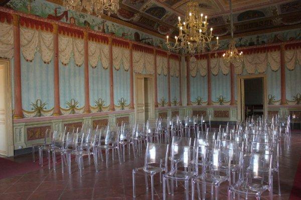 Palazzo Nicolaci a Noto Sicilia, la sala delle Feste