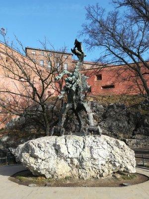 Drago di Wawel a Cracovia