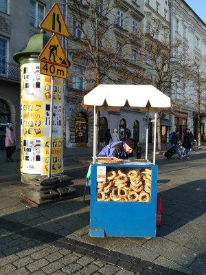 Venditore precle a Cracovia