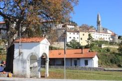 Panorama del borgo antico di Štanjel