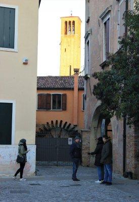 Il campanile della Chiesa di San Francesco a Treviso