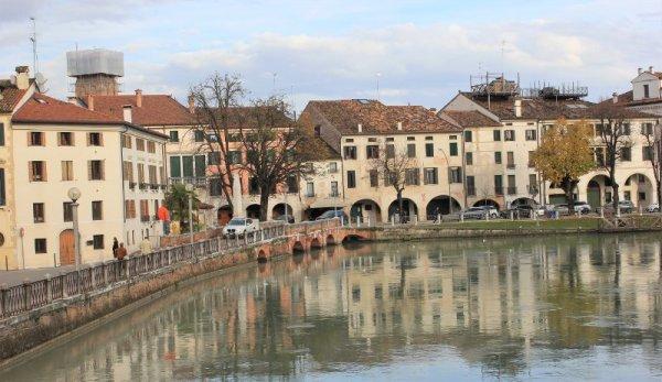 I fiumi Sile e Cagnan a Treviso