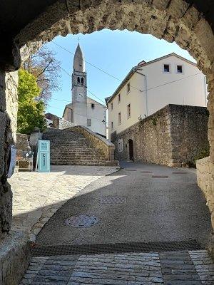 La Torre d'Ingresso a Štanjel Slovenia