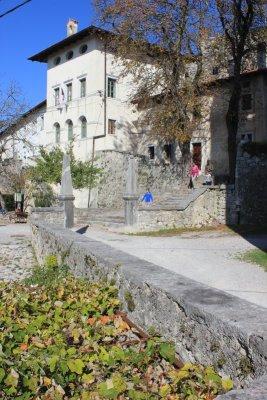 La Torre Quadrata del castello di Štanjel