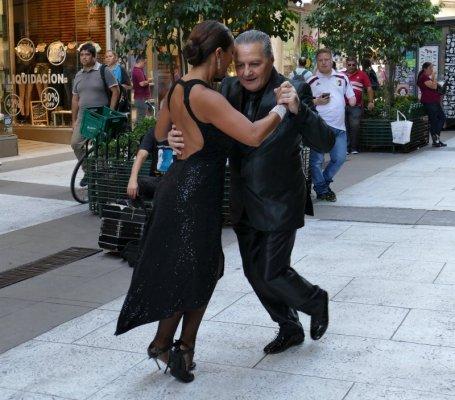 Ballerini di tango argentino a Buenos Aires