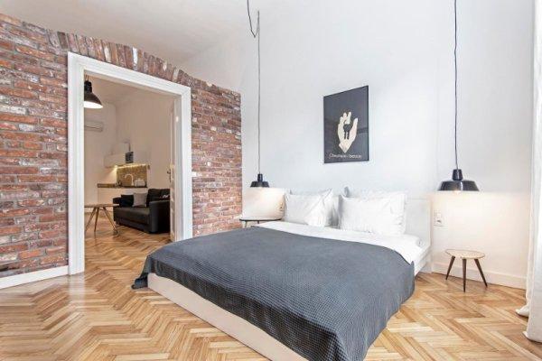 Camera da letto Relaks Apartamenty a Cracovia
