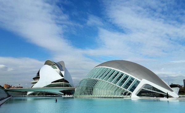 Palau de les Arts Reina Sofía e Hemisfèric a Valencia