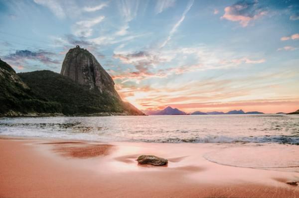 Panorama della baia di Rio de Janeiro