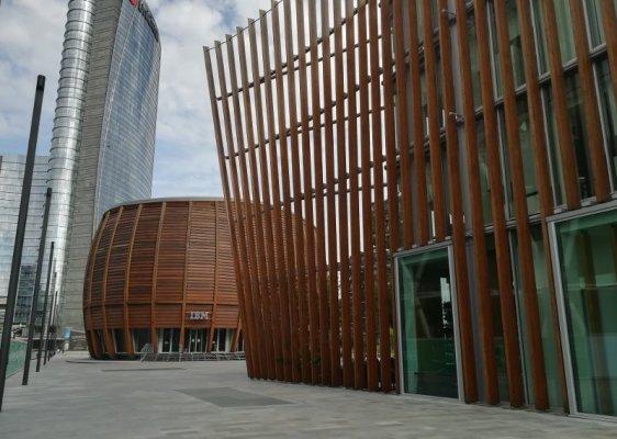 Edifici del Progetto Porta Nuova a Milano