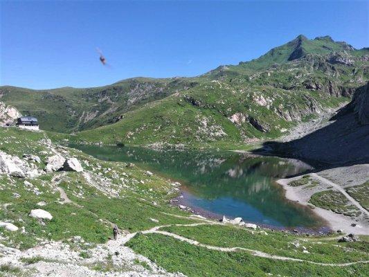 Il lago Volaia in Austria