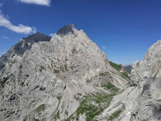 Il Monte Capolago nelle Alpi Carniche