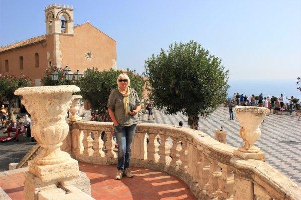 La chiesa di Santo Agostino a Taormina