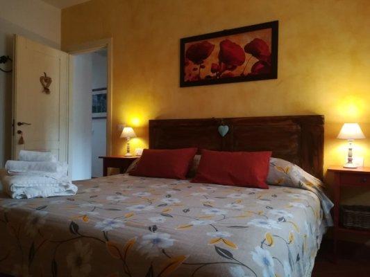 Stanza da letto nel Bed & Breakfast Grano e Lavanda a Greve in Chianti