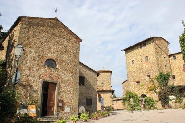 Il Castello di Volpaia nel Chianti