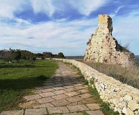 Torre costiera nel comune di Tiggiano nel Salento