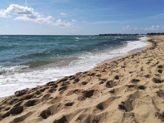 La spiaggia di Punta Prosciutto nel Salento