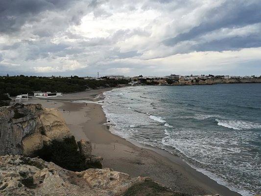 La spiaggia di Torre dell'Orso nel Salento