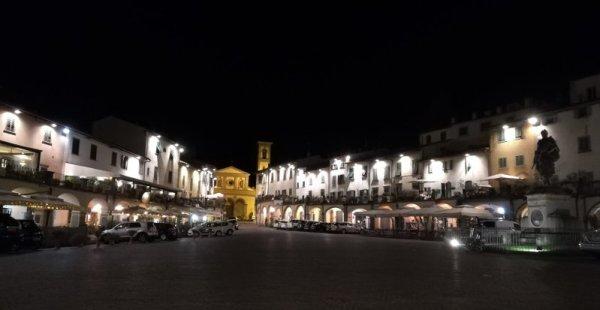 Piazza Matteotti a Greve in Chianti
