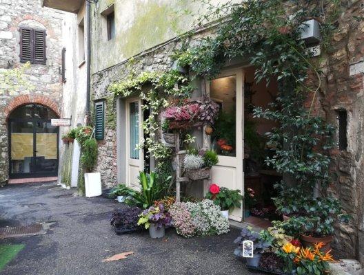 Un vicolo a Radda in Chianti