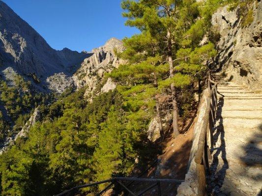 Escursione alle Gole di Samaria a Creta