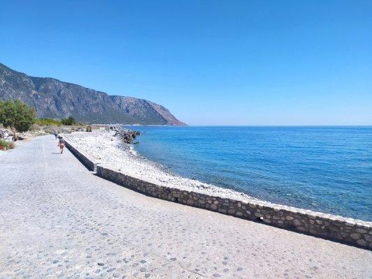 Il Mare Libico nei pressi di Agiá Rouméli a Creta