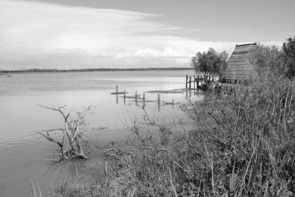 Il Canale Nicesolo e la laguna di Caorle
