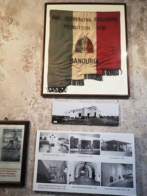 Dettagli nel Museo della Civiltà del vino Primitivo a Manduria