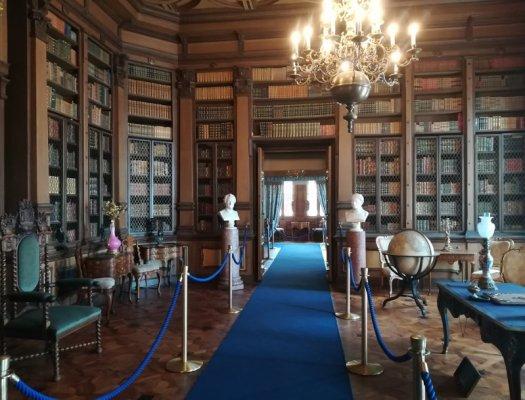 La Biblioteca del Castello di Miramare a Trieste