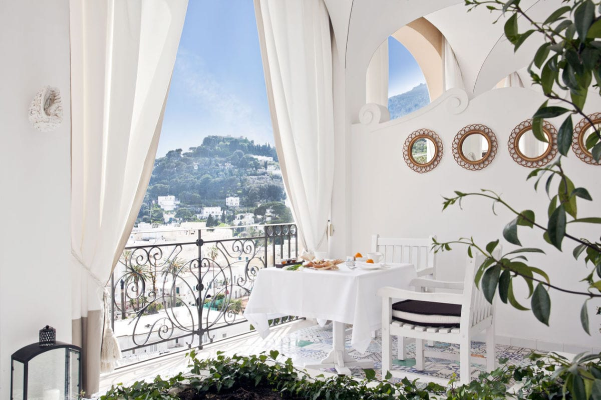Postcard From: Capri Tiberio Palace, Italy