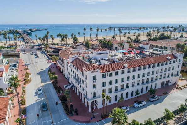 Postcard From: Hotel Californian, Santa Barbara