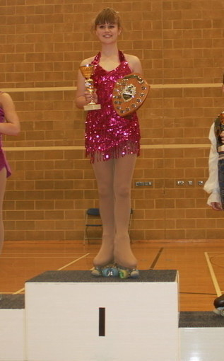 Rosie - British Espoir Solo Dance Champion April 2014