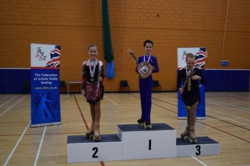 Kati 2nd in Mini Championships 2015