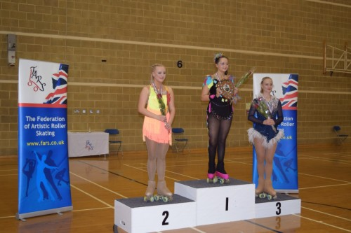 Rosie 3rd in Cadet Championships 2015
