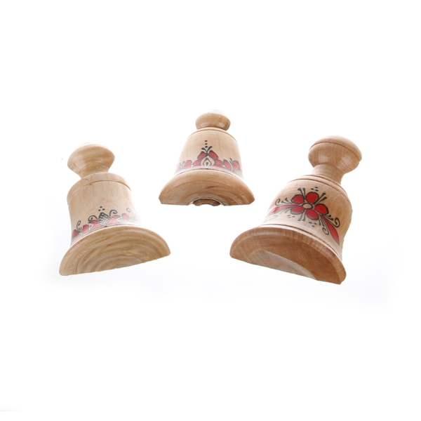 Magnet frigider clopotei din lemn