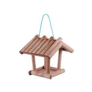 Casuta din lemn pentru pasari din barne maro
