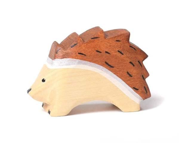 Jucarie arici BumbuToys, din lemn
