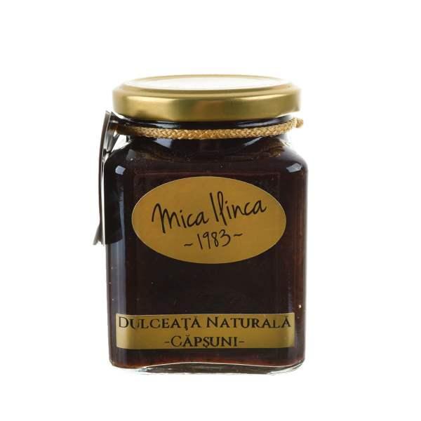 Dulceață naturală de căpșuni Mica Ilinca 330 g