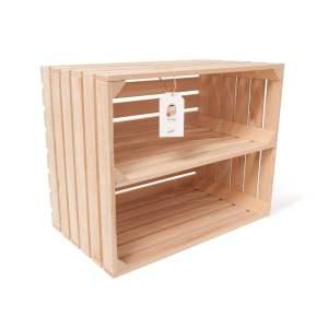 """Lădiță din lemn de fag cu separator 50 x 40 x 30 cm """"Dochia"""""""