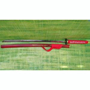 RED DRAGON KATANA (High Quality Blade)(Beautiful Golden Dragon Design)